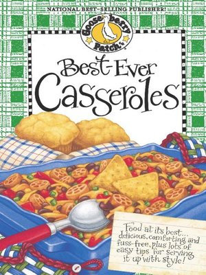 cover image of Best-Ever Casseroles Cookbook