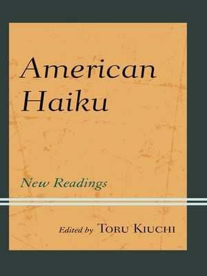 cover image of American Haiku