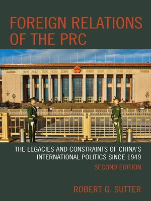 cover image of Foreign Relations of the PRC