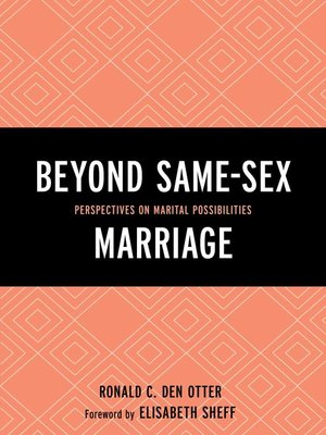 cover image of Beyond Same-Sex Marriage