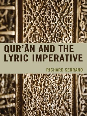 cover image of Qur'an and the Lyric Imperative