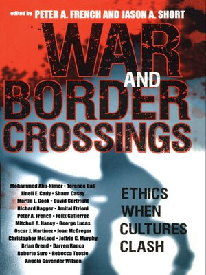 cover image of War and Border Crossings
