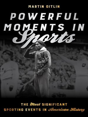 cover image of Powerful Moments in Sports