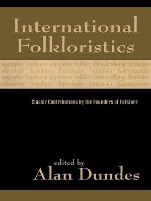cover image of International Folkloristics