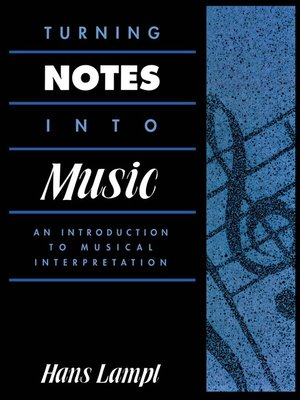 cover image of Turning Notes Into Music