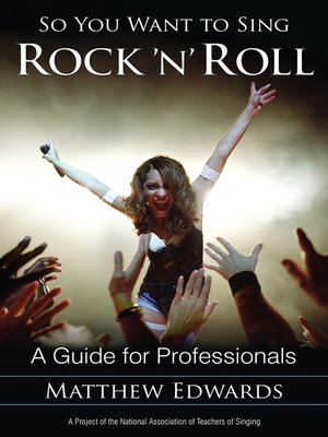 cover image of So You Want to Sing Rock 'n' Roll