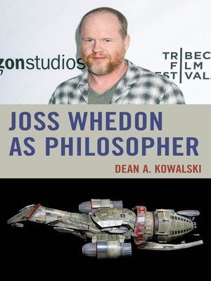 cover image of Joss Whedon as Philosopher