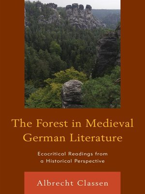 cover image of The Forest in Medieval German Literature