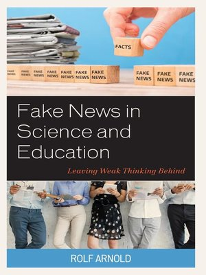 cover image of Fake News in Science and Education