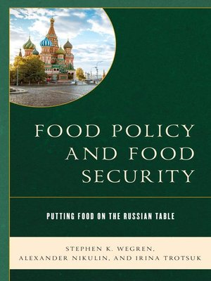 cover image of Food Policy and Food Security