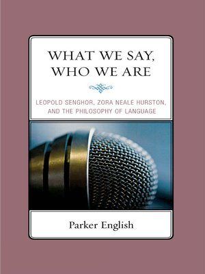 cover image of What We Say, Who We Are