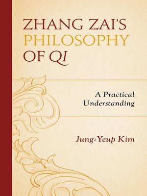 cover image of Zhang Zai's Philosophy of Qi