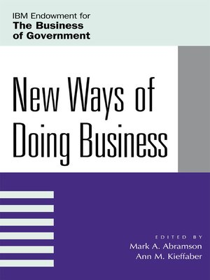 cover image of New Ways of Doing Business