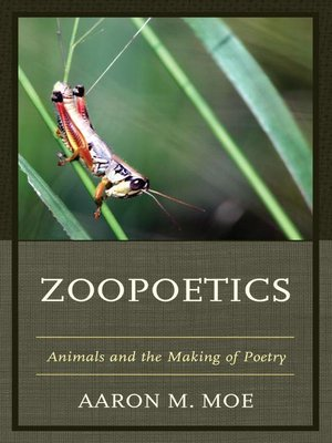 cover image of Zoopoetics