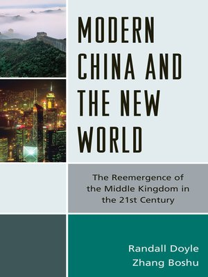 cover image of Modern China and the New World