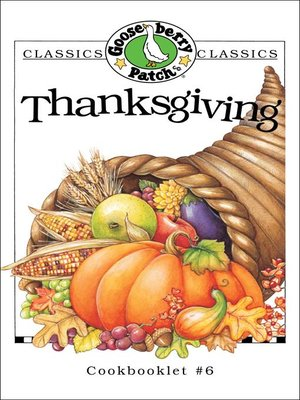 cover image of Thanksgiving Cookbook
