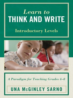 cover image of Learn to Think and Write