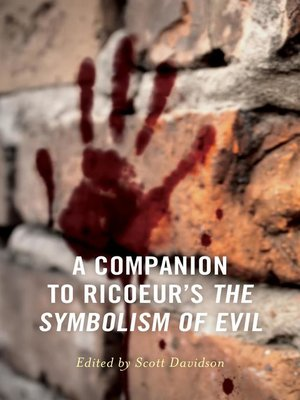 cover image of A Companion to Ricoeur's the Symbolism of Evil