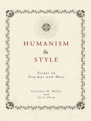 cover image of Humanism and Style