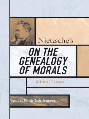 cover image of Nietzsche's On the Genealogy of Morals