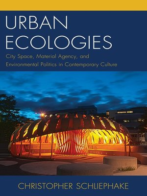 cover image of Urban Ecologies