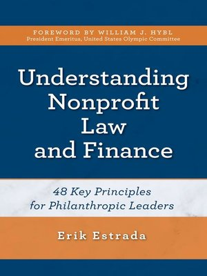 cover image of Understanding Nonprofit Law and Finance