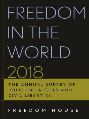 cover image of Freedom in the World 2018