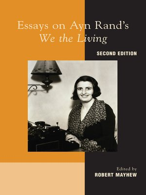 cover image of Essays on Ayn Rand's We the Living