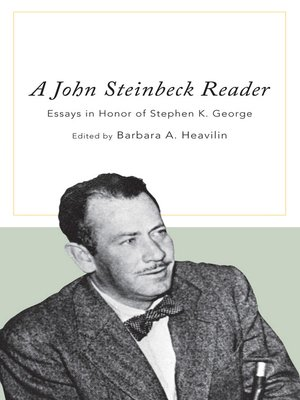 cover image of A John Steinbeck Reader