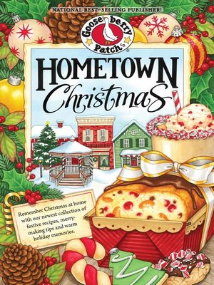 cover image of Hometown Christmas Cookbook