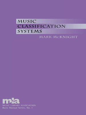 cover image of Music Classification Systems