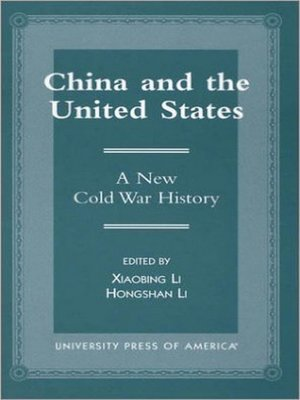 cover image of China and the United States