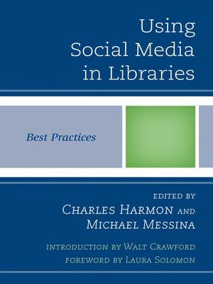 cover image of Using Social Media in Libraries