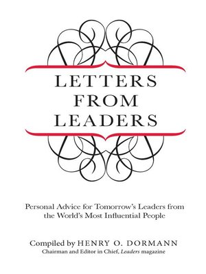 cover image of Letters from Leaders
