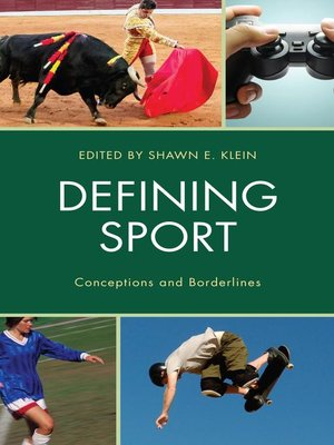 cover image of Defining Sport