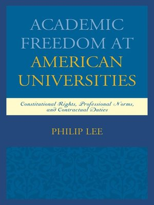 cover image of Academic Freedom at American Universities