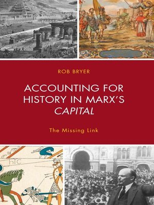 cover image of Accounting for History in Marx's Capital