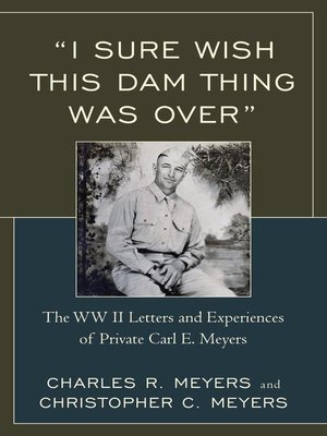 "cover image of ""I Sure Wish this Dam Thing Was Over"""