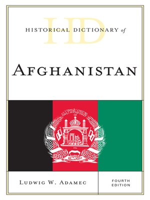 cover image of Historical Dictionary of Afghanistan