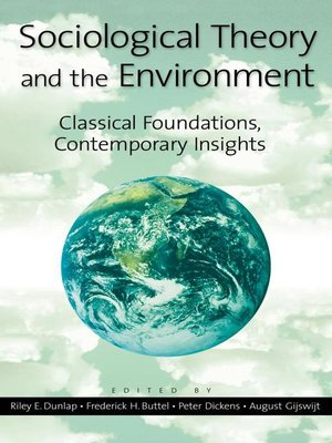 cover image of Sociological Theory and the Environment