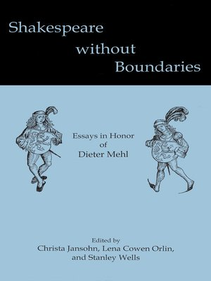 cover image of Shakespeare without Boundaries