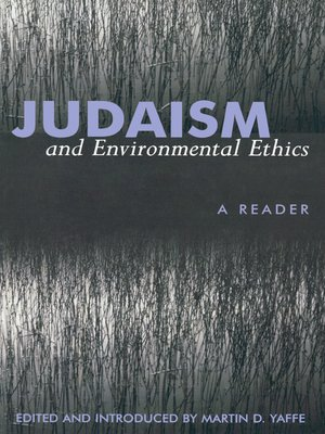 cover image of Judaism And Environmental Ethics