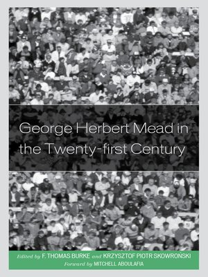 cover image of George Herbert Mead in the Twenty-First Century
