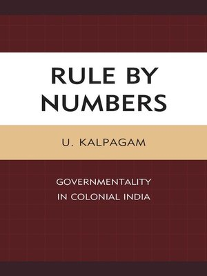 cover image of Rule by Numbers