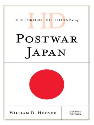 cover image of Historical Dictionary of Postwar Japan