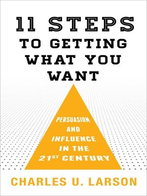 cover image of Eleven Steps to Getting What You Want