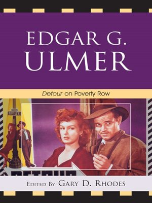 cover image of Edgar G. Ulmer