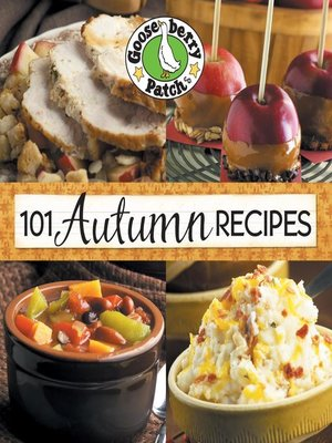 cover image of 101 Autumn Recipes