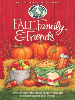 cover image of Fall, Family & Friends Cookbook