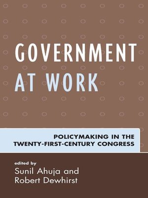 cover image of Government at Work
